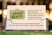 Hotel Brack Business Card